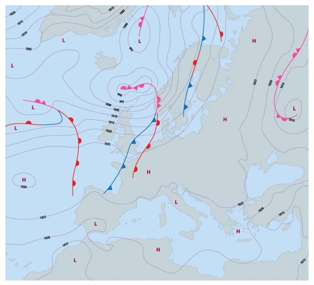 jak czytać prognozy pogody