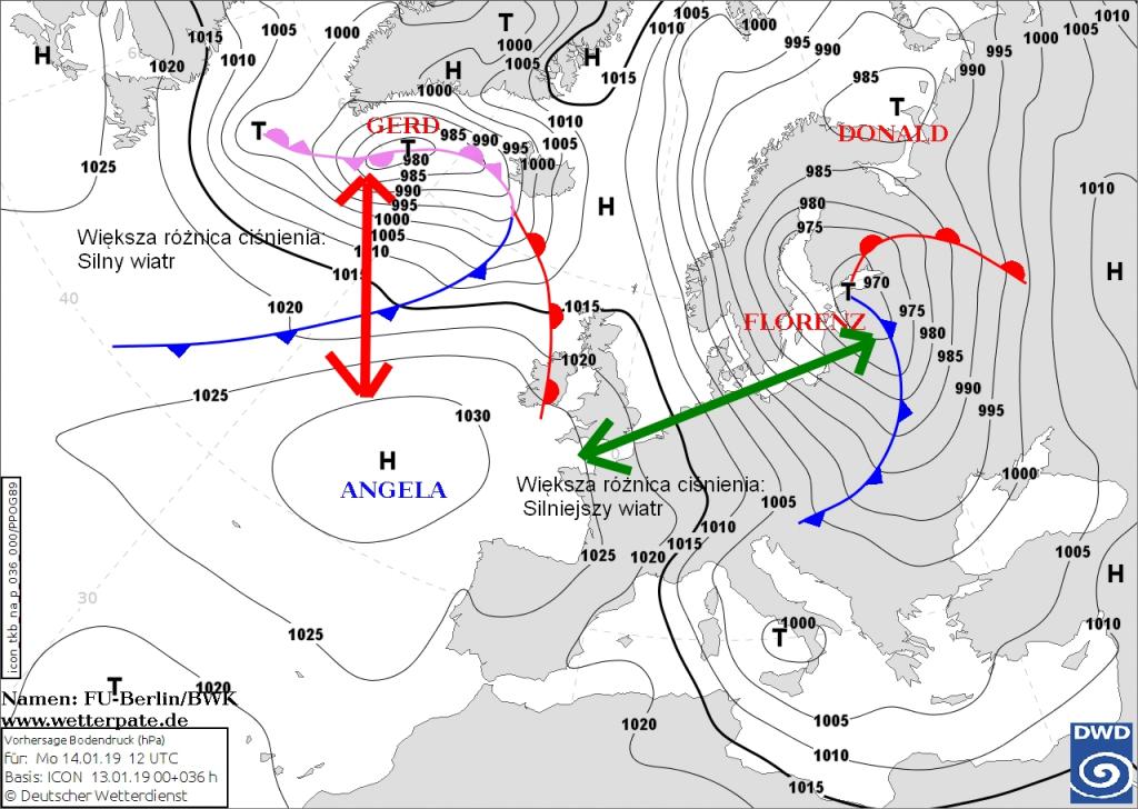 mapa prognostyczna